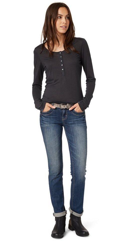 tom tailor jeans straight alexa with belt kaufen otto