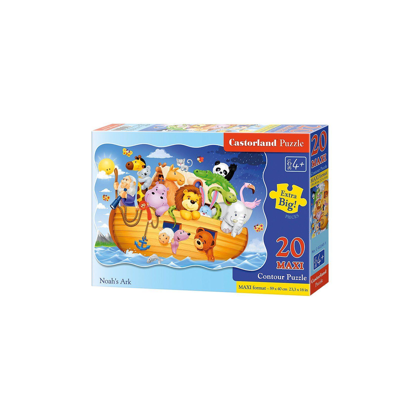 Castorland Bodenpuzzle 20 Teile Maxi - Arche Noah