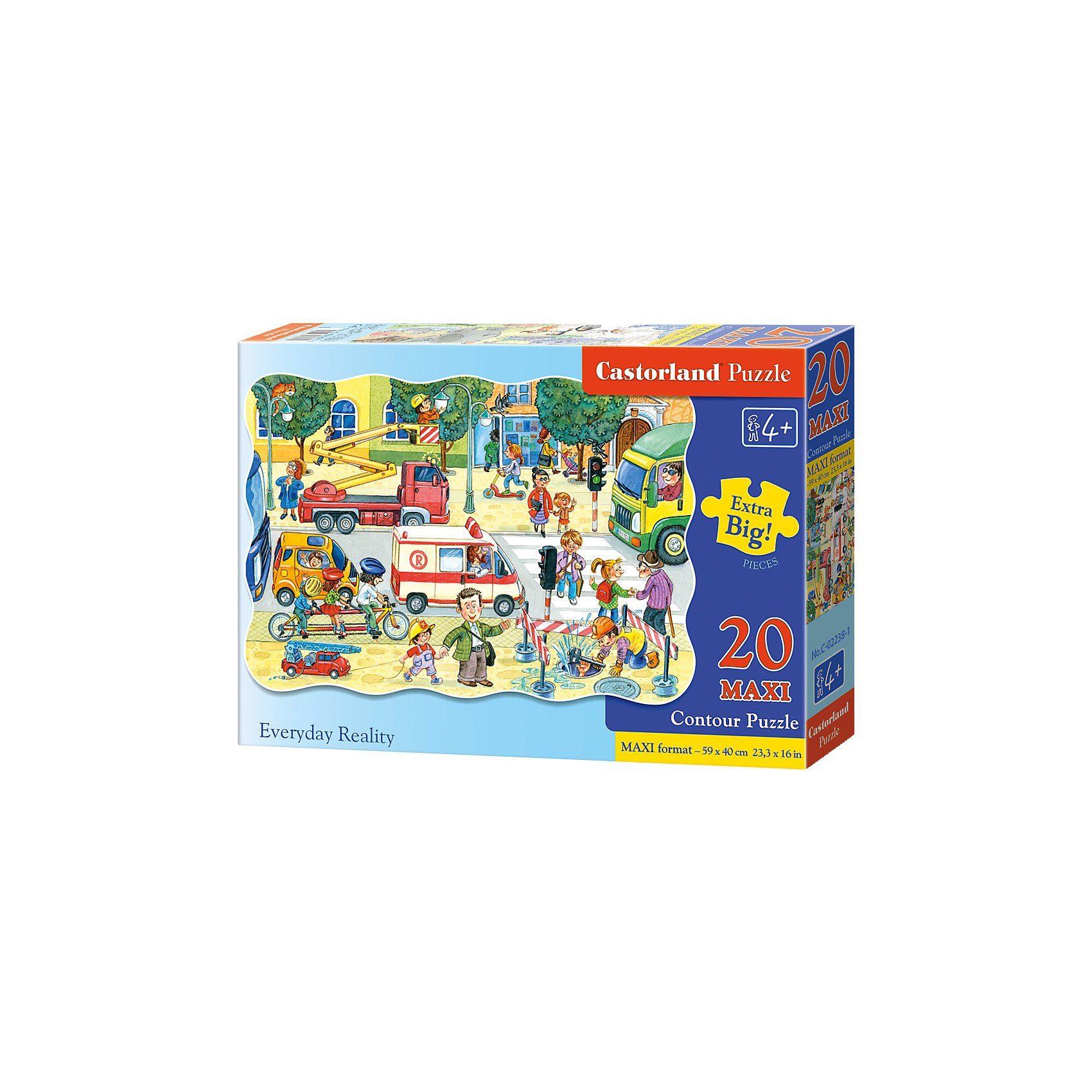 Castorland Bodenpuzzle 20 Teile Maxi - Auf der Straße