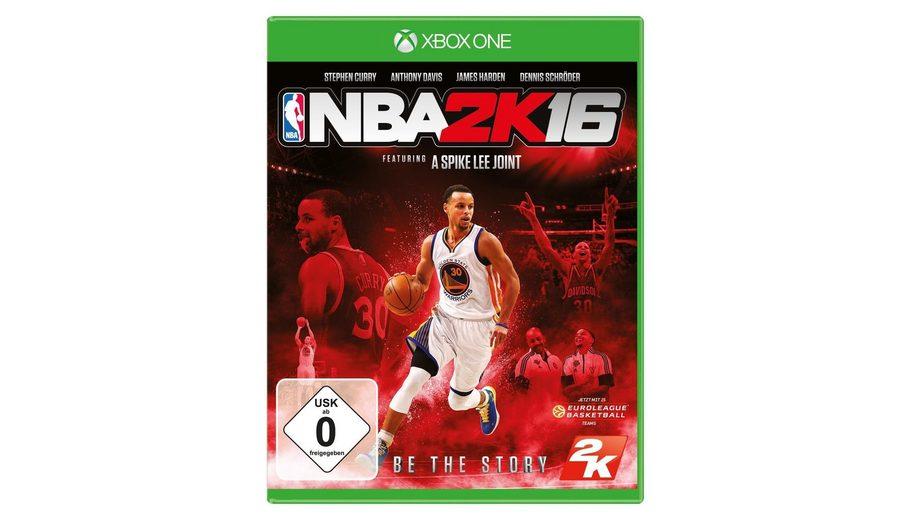 2K XBOX One - Spiel »NBA 2K16«