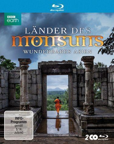 Blu-ray »Länder des Monsuns - Wunderbares Asien (2 Discs)«