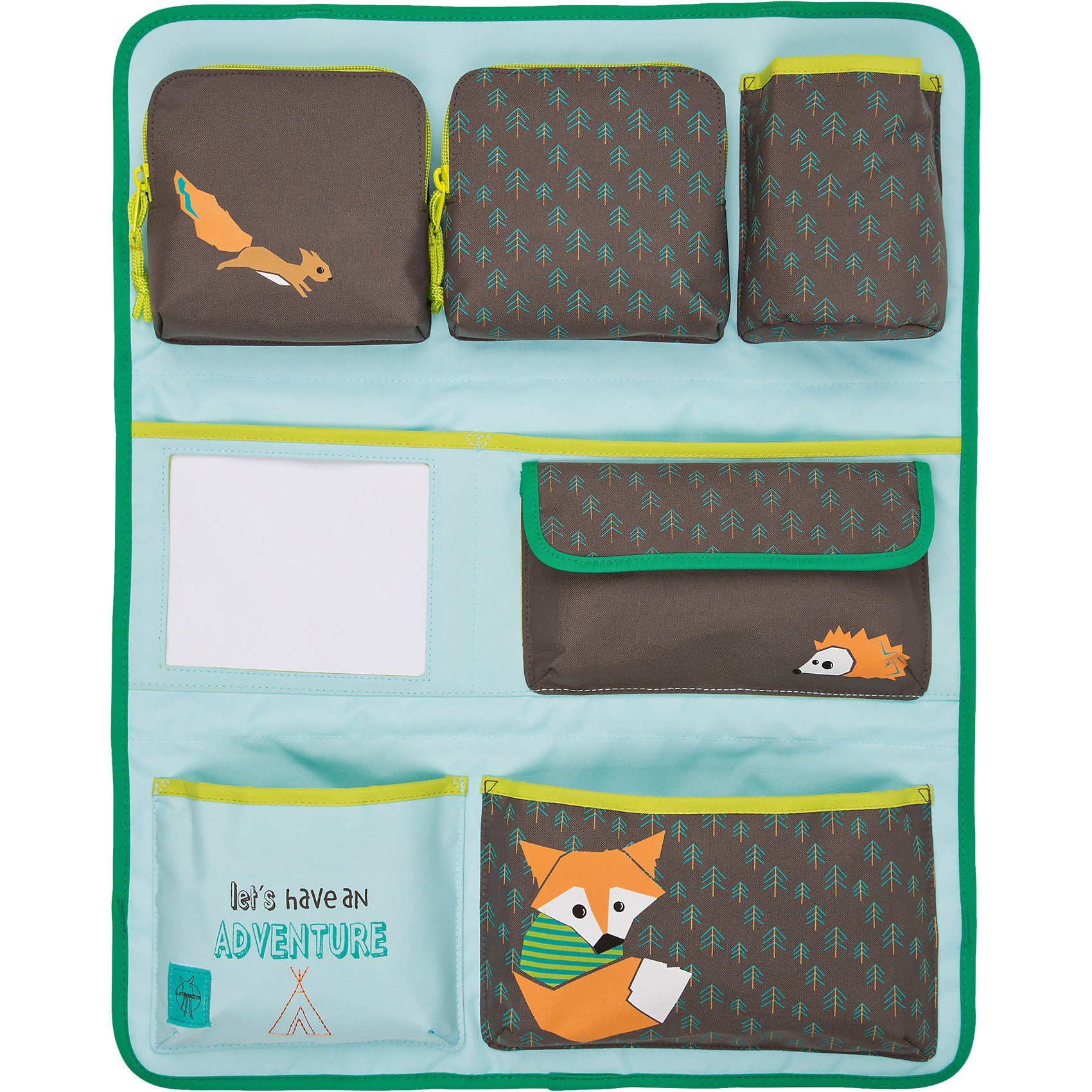 Lässig Auto-Rückenlehnentasche 4kids Wrap-to-Go Little Tree, Fox