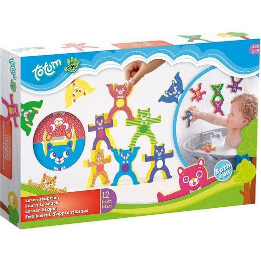 totum »Little Creators Badespielzeug Stapeln Lernen« Badespielzeug