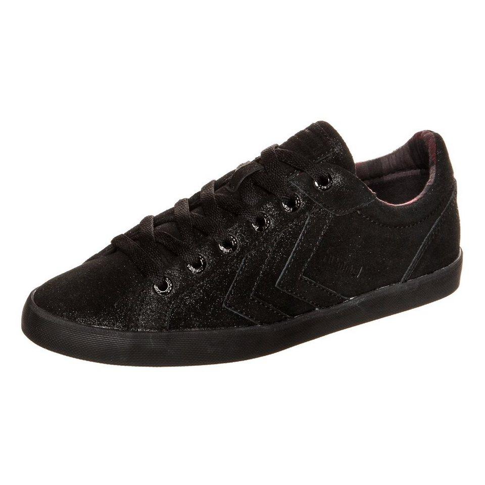 HUMMEL TEAMSPORT Deuce Court Lo Sneaker Damen in schwarz