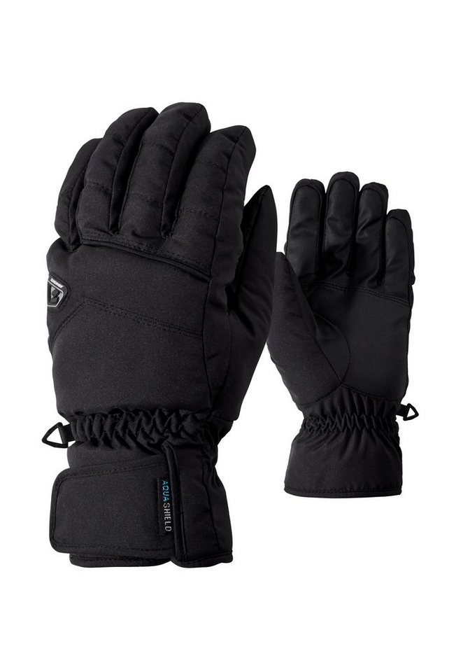 Ziener Handschuh »GILLIGAN AS(R) glove ski alpine« in black