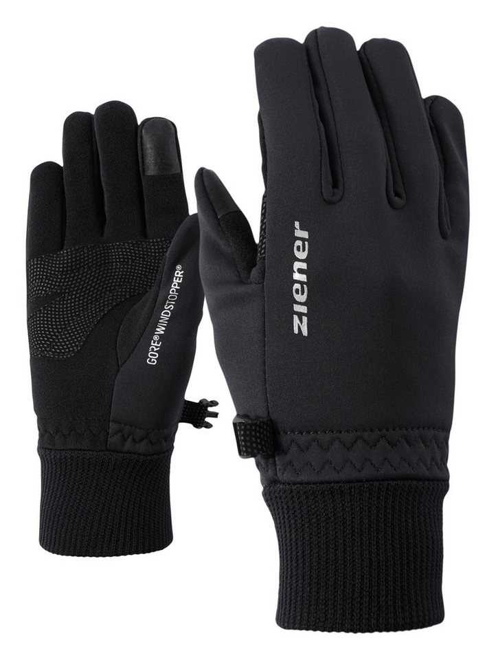 Ziener Handschuh »LIDEALIST GWS TOUCH JUNIOR glove mu« in black