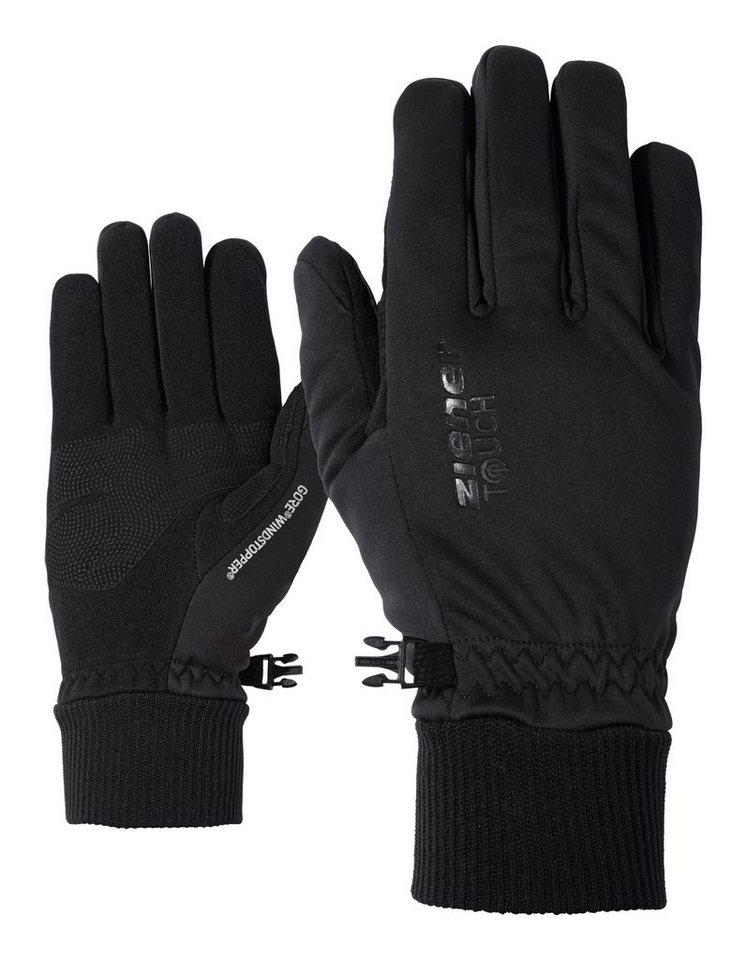 Ziener Handschuh »IDAHO GWS TOUCH glove multisport« in black