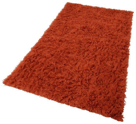 Wollteppich »Flokati 1500 g«, Böing Carpet, rechteckig, Höhe 60 mm, reine Wolle, handgearbeitet, Wohnzimmer