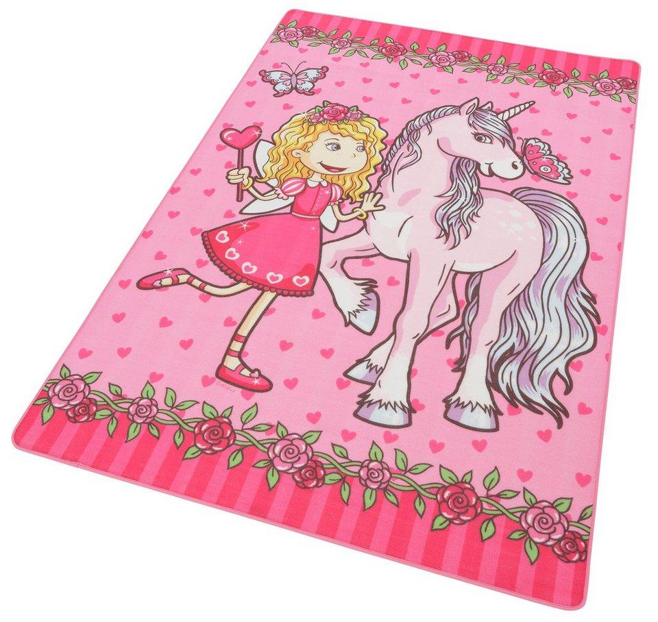 Kinder-Teppich, Böing Carpet, »Lovely Kids LK-9« in rosa