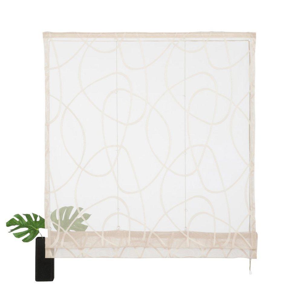 raffrollo mit klettband technik teba raffrollo gelb. Black Bedroom Furniture Sets. Home Design Ideas