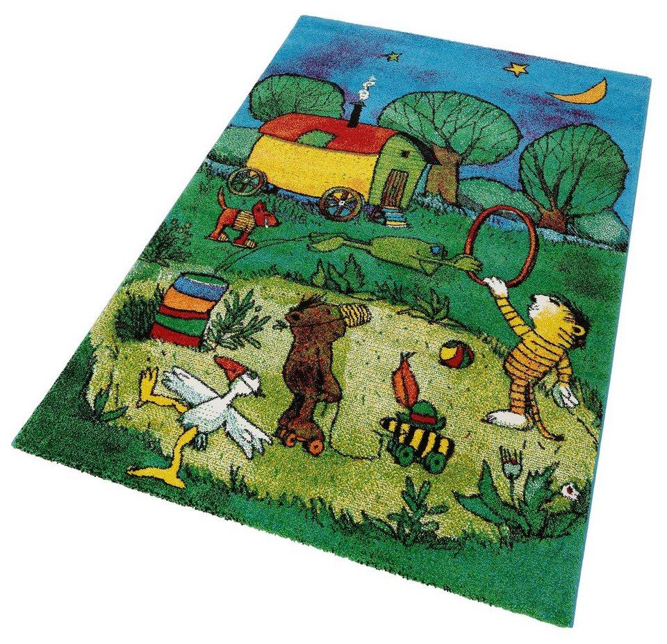 Kinder teppich  Kinderteppich »Zirkus Panama«, JANOSCH, rechteckig, Höhe 15 mm ...