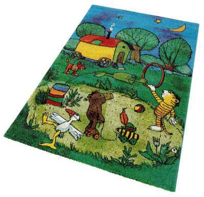 kinderteppich online kaufen » kinderzimmerteppich | otto - Teppich Kinderzimmer Grun