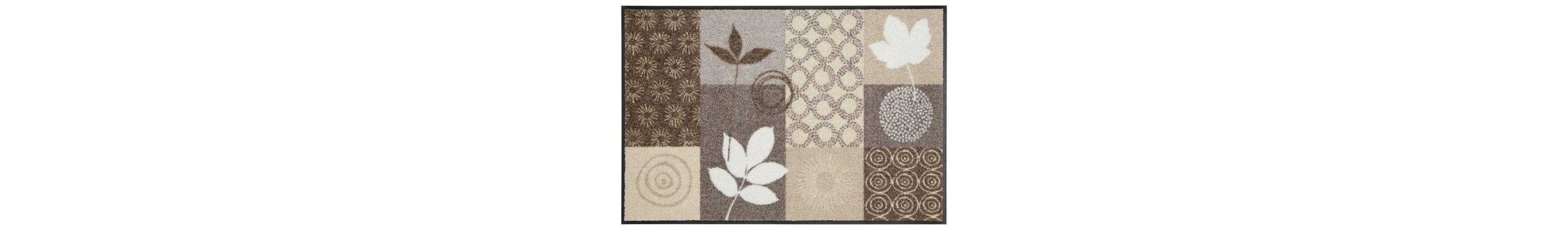 Fußmatte, Salonloewe, »Autum Leaves«, waschbar, In- und Outdoor mit rutschhemmender Beschichtung