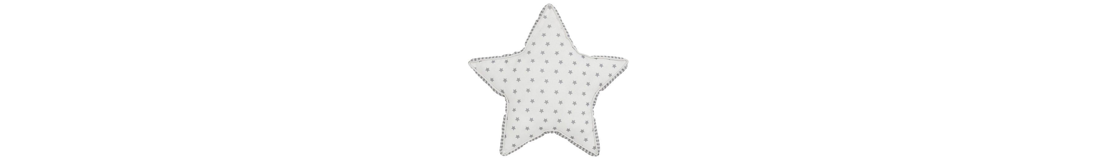 Dekokissen, Dreams, »Star«, mit Kedereinfassung