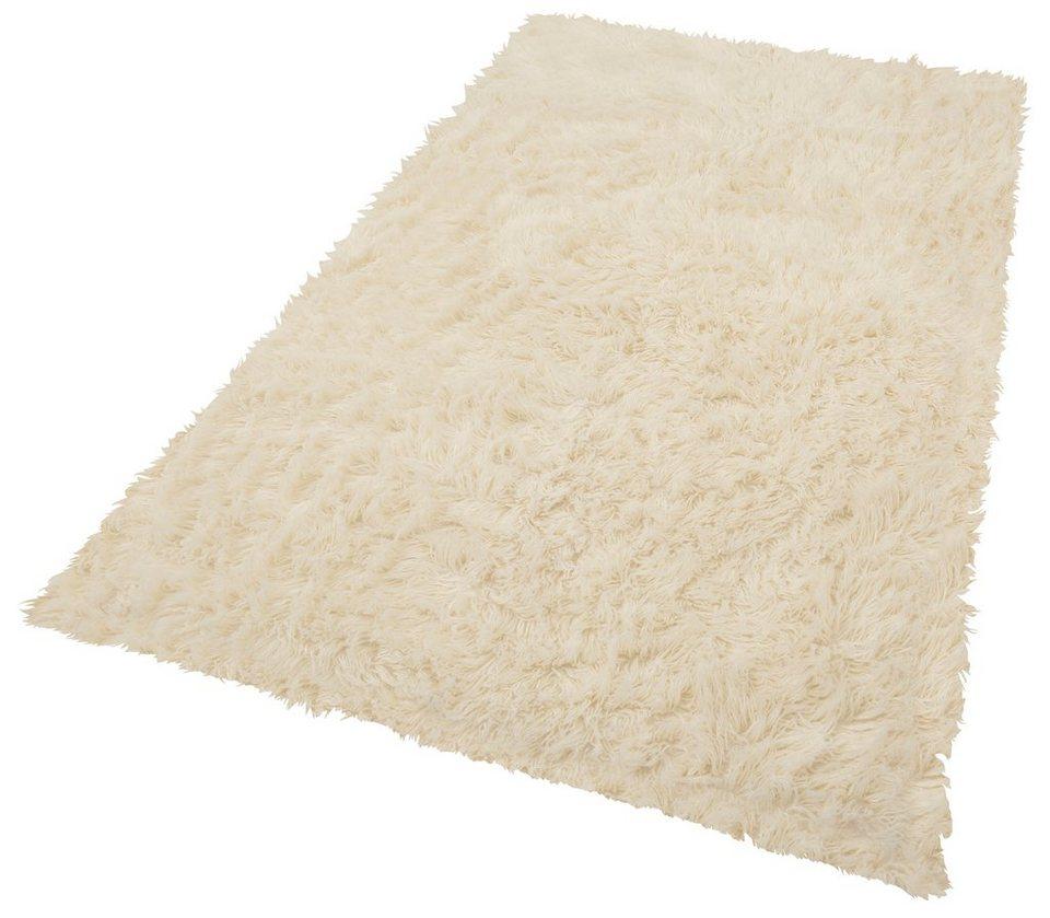 Fell-Teppich, Böing Carpet, »Flokati 1500 g«, handgearbeitet, Wolle in natur