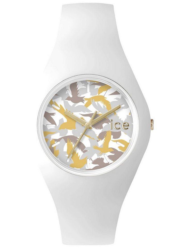 "Ice watch, Armbanduhr, ""ICE-FLY, ICE.FY.WE.U.S.15"" in weiß"