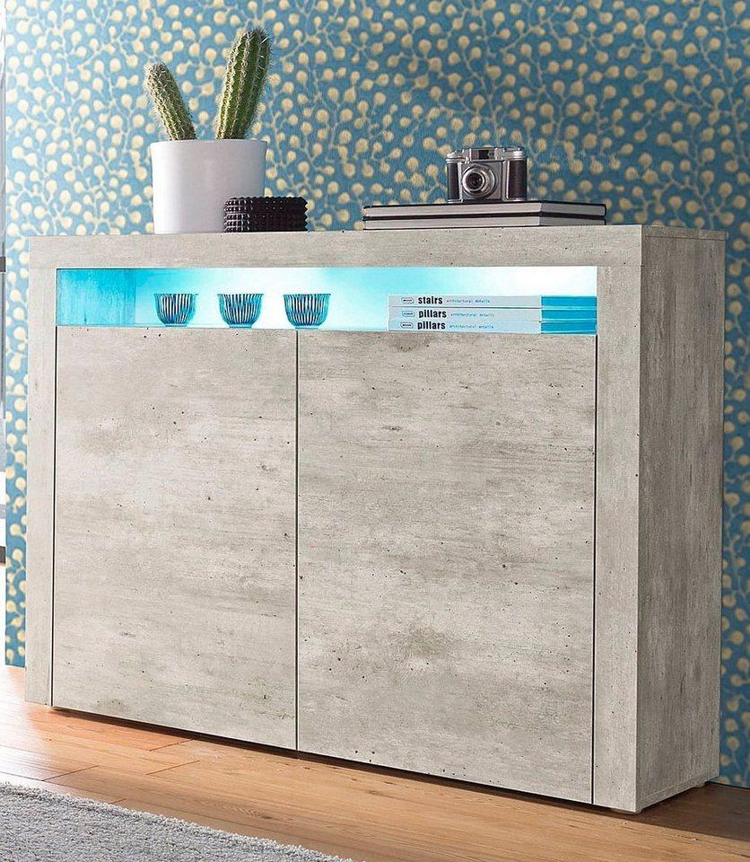 borchardt möbel highboard, breite 107 cm kaufen | otto