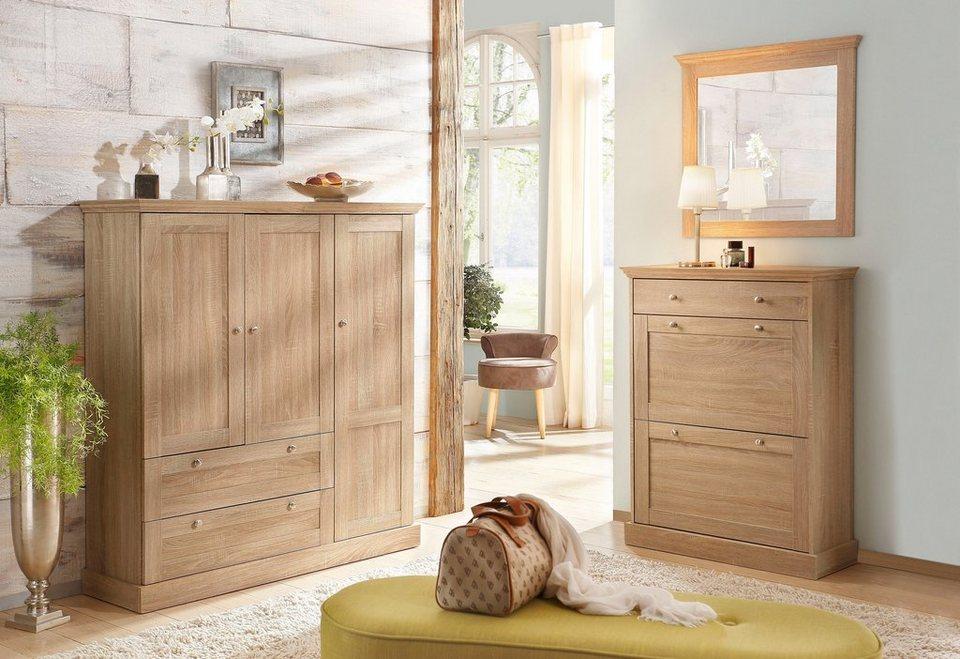 Home affaire mehrzweckschrank binz 3 t rig otto for Einfache garderobe