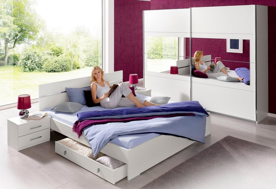 schlafzimmer wei komplett. Black Bedroom Furniture Sets. Home Design Ideas