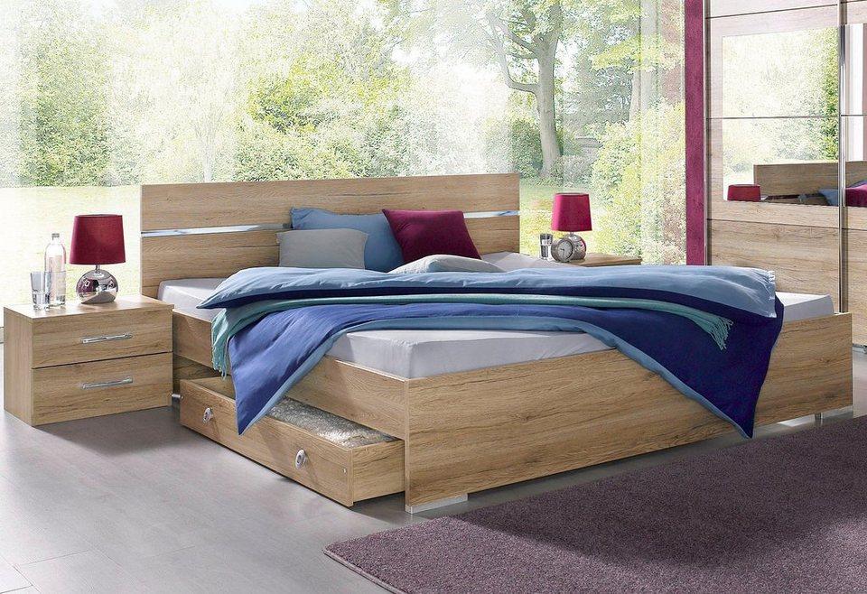 rauch bettananlage 3 tlg online kaufen otto. Black Bedroom Furniture Sets. Home Design Ideas