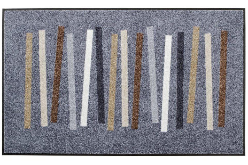 Fußmatte in grau/beige