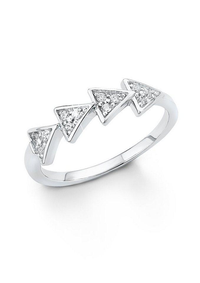 s.Oliver Geometrisch designter Ring in 01E0