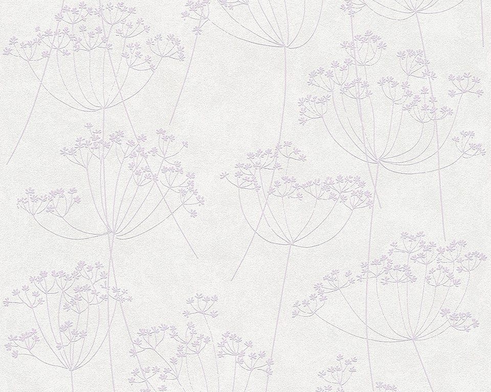 Vliestapete, Livingwalls, »Memory 2« in beige violett