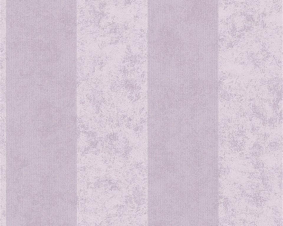 Vliestapete, Livingwalls, »Memory 2« in metallic violett