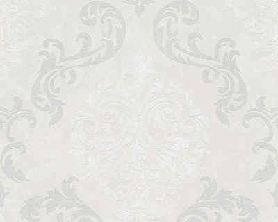 Barock tapete weiß silber  Barock Tapete online kaufen » Eleganz für Ihre Wand | OTTO