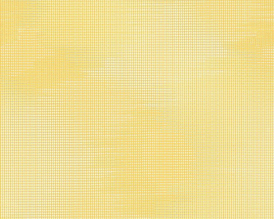 Vliestapete, Livingwalls, »Cocoon« in gelb