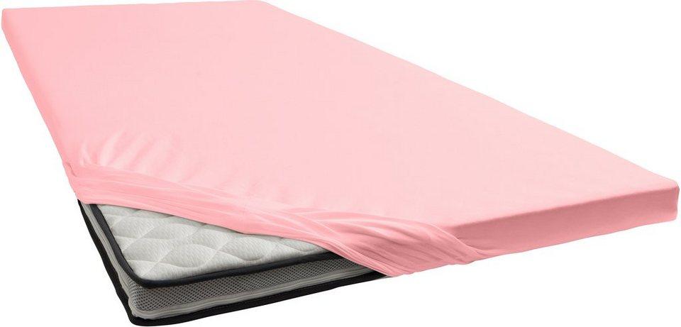 spannbettlaken damai renforc f r topper otto. Black Bedroom Furniture Sets. Home Design Ideas