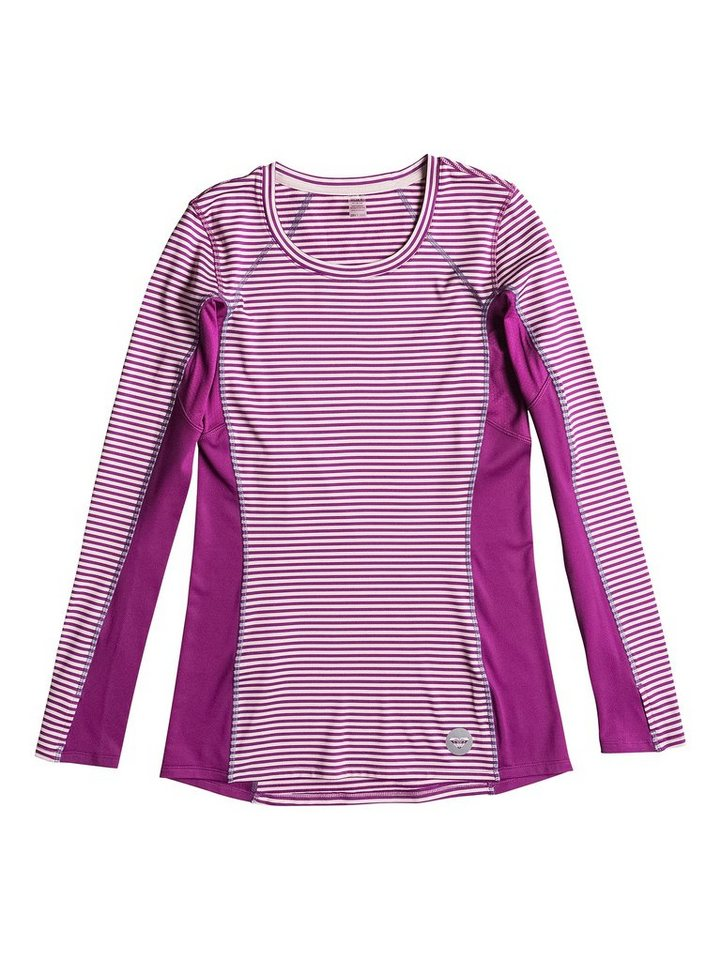 Roxy Crewneck Pullover Top »Twilight« in Magenta purple
