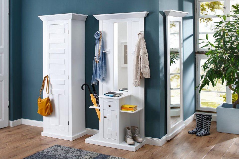 Premium collection by Home affaire Kompaktgarderobe »Nadja« Breite 88,5 cm in weiß