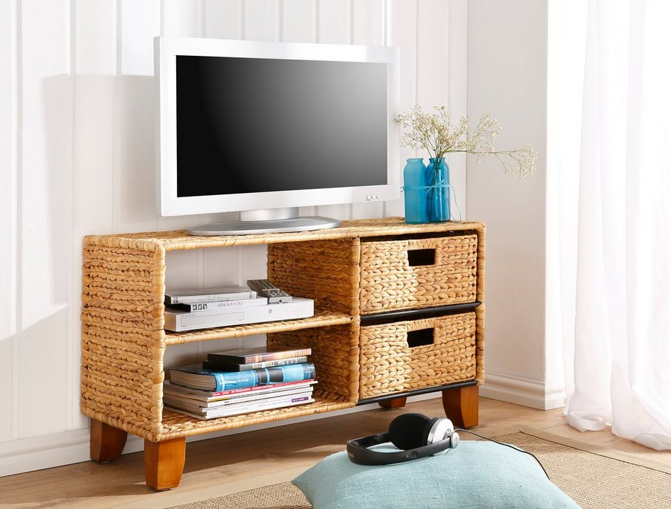 Home affaire TV-Lowboard in naturfarben