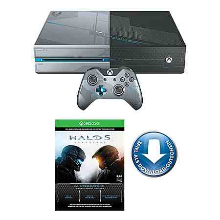 Xbox One 1TB + Halo 5: Guardians Limited Edition Konsolen-Set