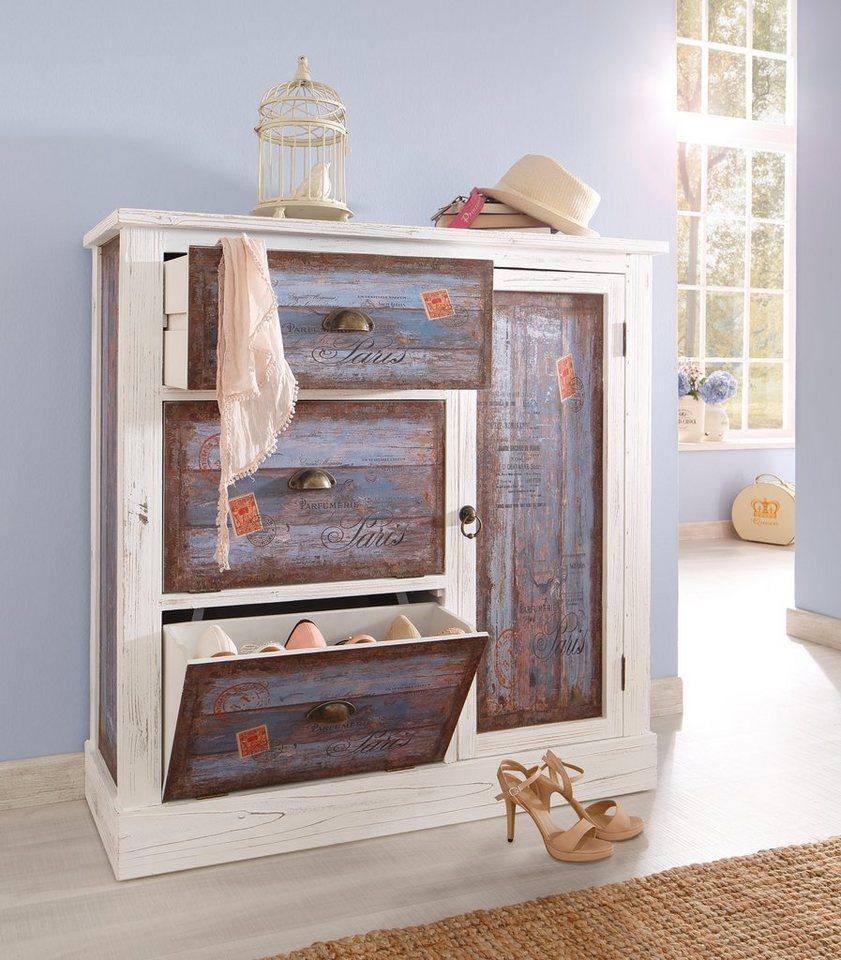 Schuhkommode, Home affaire, »Vintage«, in zwei Farben online ...