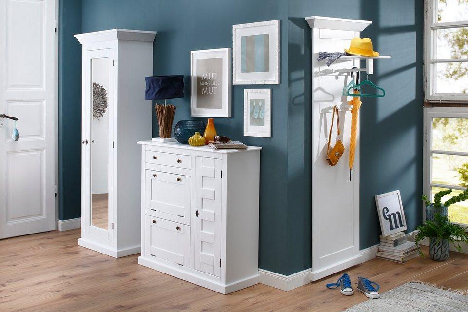 Premium collection by Home affaire Garderobe »Nadja« Breite 68,5 cm in weiß