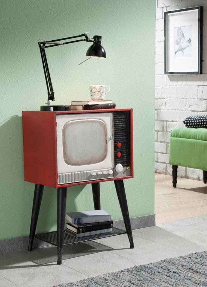 Home affaire Kommode »Retro TV«,Breite 46 cm in bunt