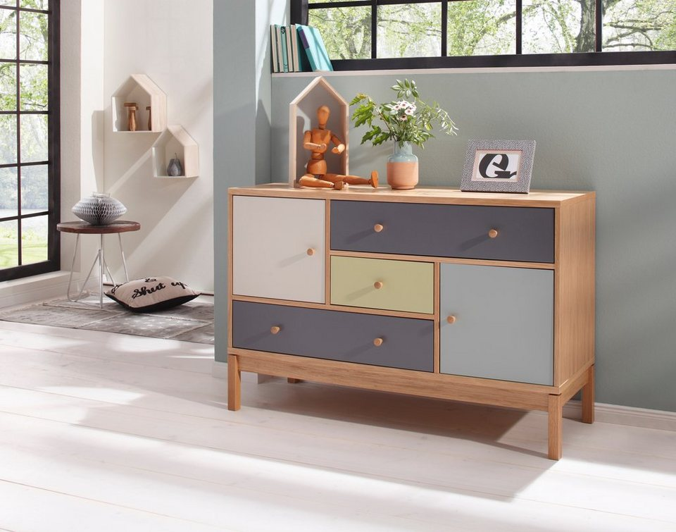 andas sideboard abbeywood breite 120 cm kaufen otto. Black Bedroom Furniture Sets. Home Design Ideas