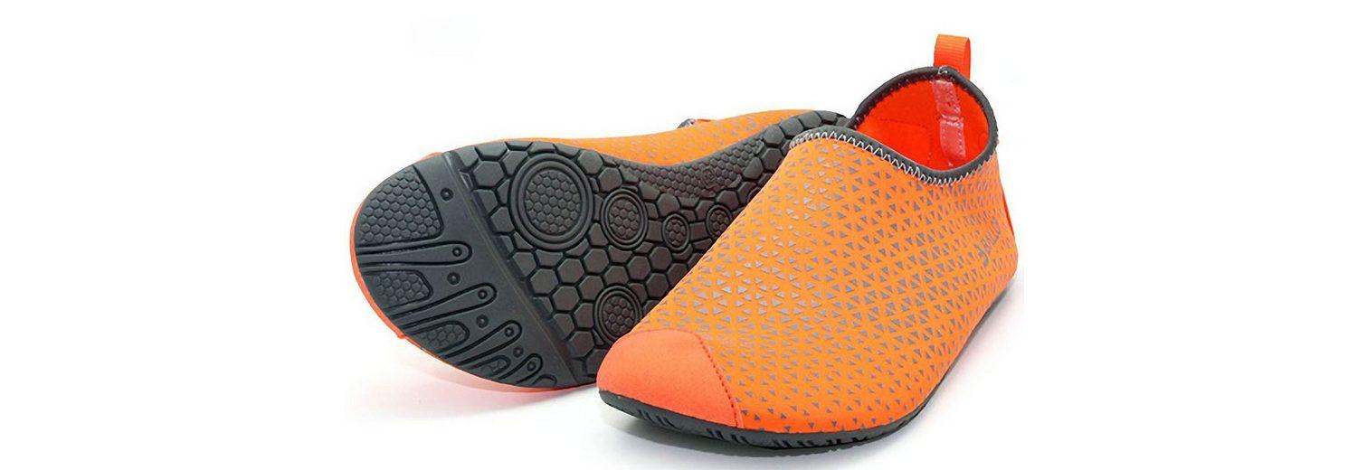 Ballop Barfußschuhe, Spider orange