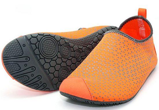 Ballop Barefoot Shoes, Orange Spider