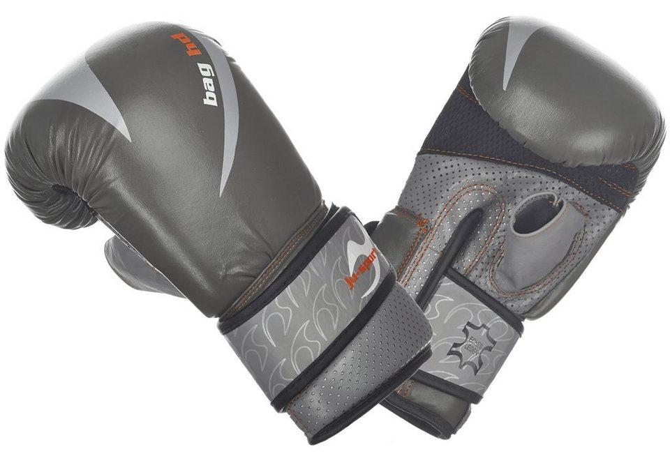 Ju-Sports Boxhandschuhe, Sandsackhandschuhe, »Bag HD« in grau