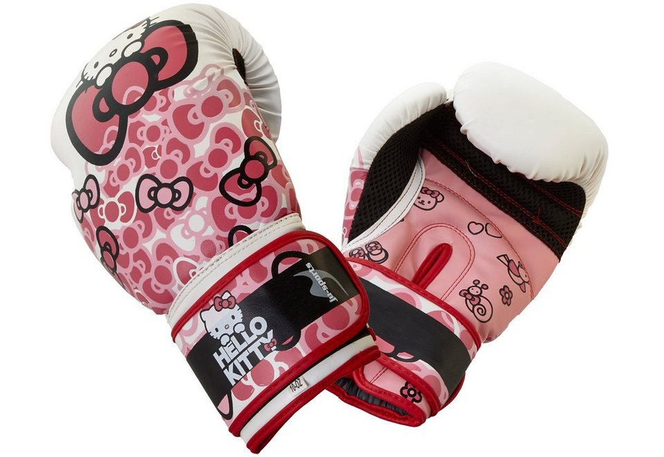 Ju-Sports Kinder Boxhandschuhe, »Hello Kitty Core« in pink-weiß