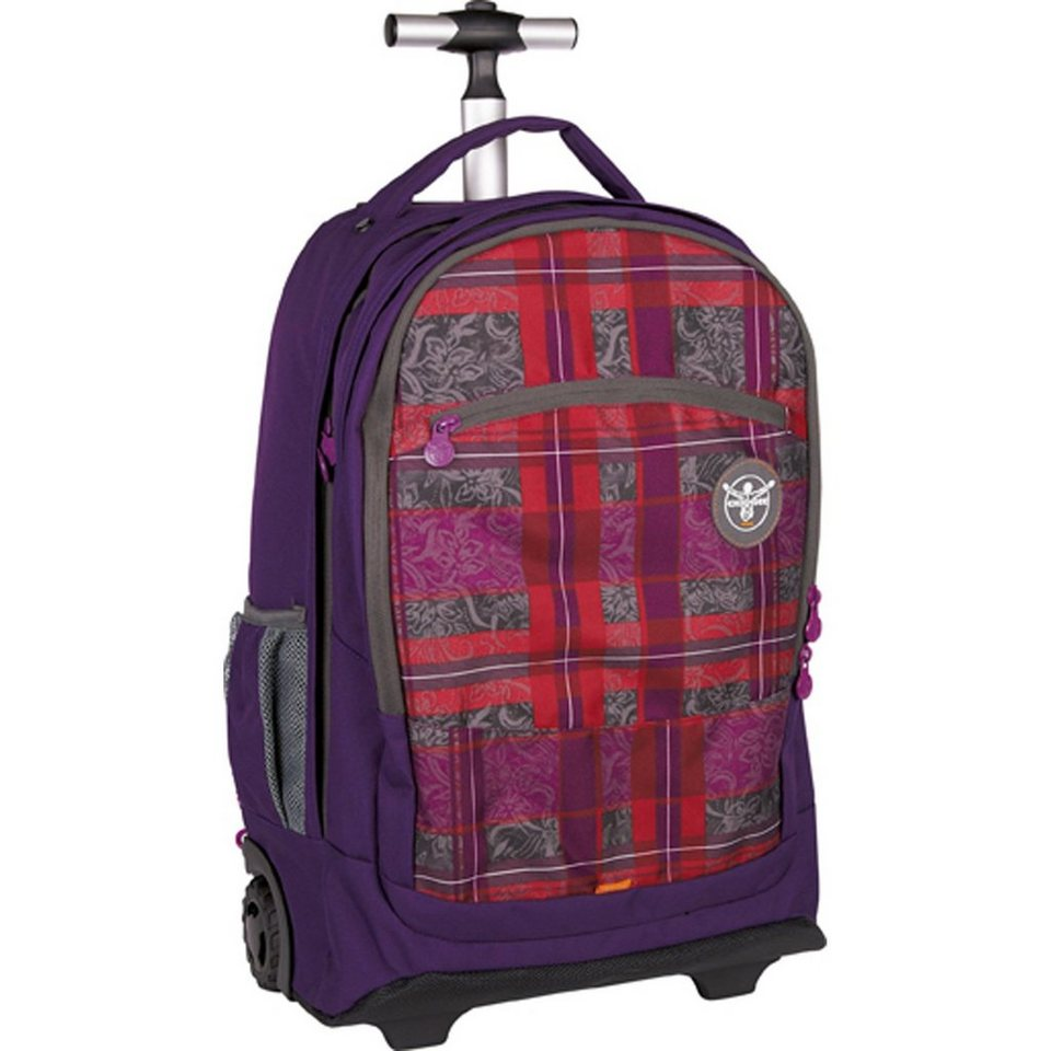 Chiemsee Sport 15 Wheely 2- Rollen Rucksack-Trolley 52 cm Laptopfach in checky barberry