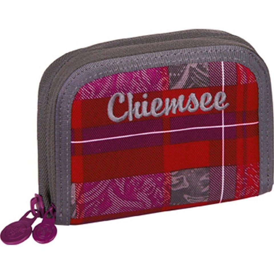 Chiemsee Sport 15 Twin Zip Wallet Geldbörse 11,5 cm in checky barberry