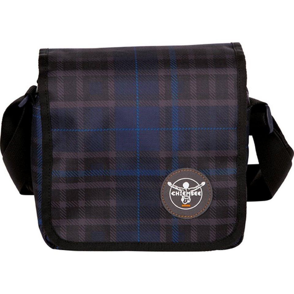 Chiemsee Sport 15 Shoulderbag Small Umhängetasche 21 cm in check black