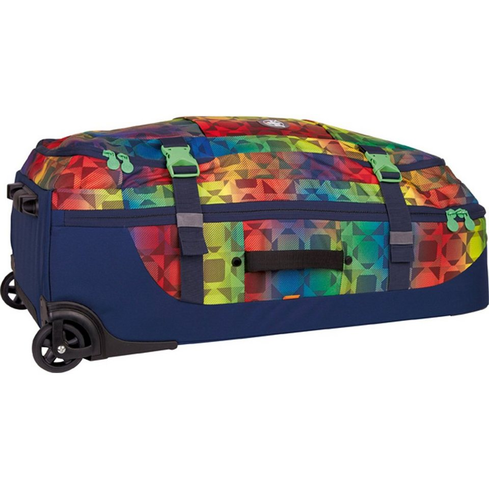 Chiemsee Sport Holiday 2-Rollen Trolley 78 cm in plaid barberry
