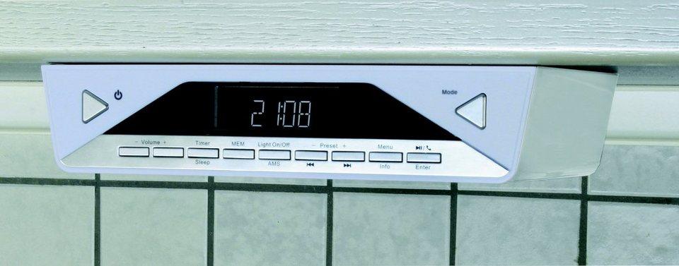 soundmaster Unterbaugeräte »UR2040« in Weiß