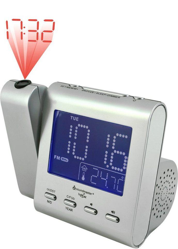 soundmaster Uhrenradios »UR135SI« in Silber
