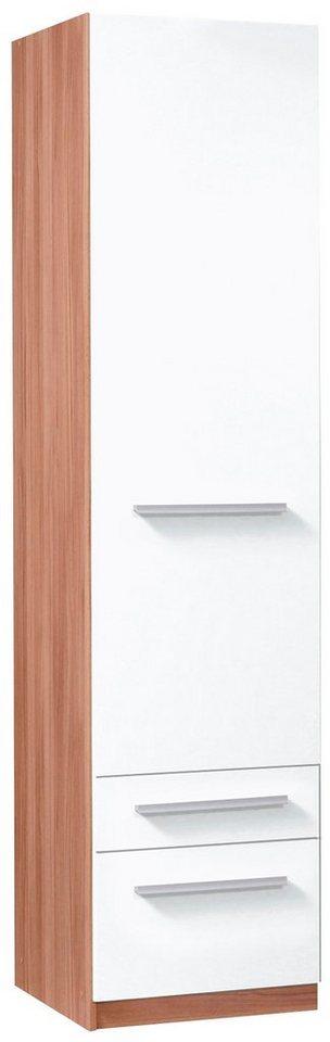 Kleiderschrank »Barcelona« in kernbuchefarben/weiß
